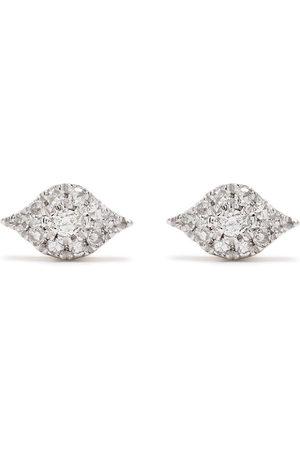 Djula 18kt Eyes Rotgoldohrringe mit Diamanten
