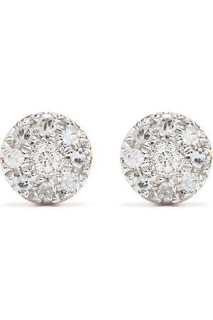 DJULA 18kt Target Gelbgoldohrringe mit Diamanten