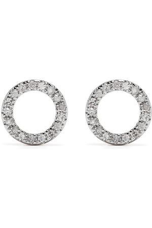 Djula 18kt Circle Rotgoldohrringe mit Diamanten