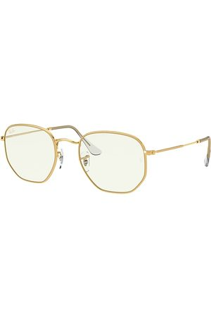 Ray-Ban Sonnenbrillen - Hexagonal Blue-light Clear , Klar Lenses - RB3548
