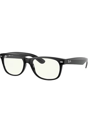 Ray-Ban New Wayfarer Blue-light Clear glänzend, Klar Lenses - RB2132