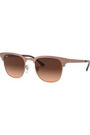 Ray-Ban Clubmaster Metal @collection Bronze-Kupfer, Pink Lenses - RB3716