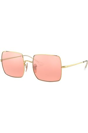 Ray-Ban Square 1971 Mirror Evolve , Pink Lenses - RB1971