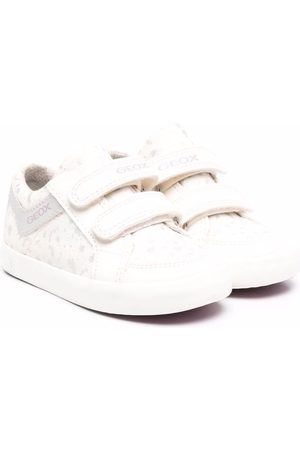Geox Kids Mädchen Sneakers - B Gisli touch-strap trainers