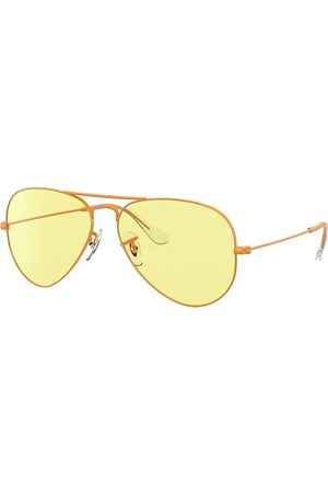 Ray-Ban Aviator Solid Evolve , Gelb Lenses - RB3025