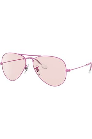 Ray-Ban Aviator Solid Evolve , Pink Lenses - RB3025