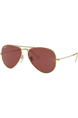 Ray-Ban Aviator Classic , Polarized Violett Lenses - RB3025