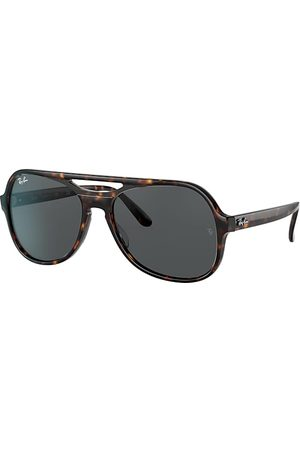 Ray-Ban Powderhorn Havana, Blau Lenses - RB4357