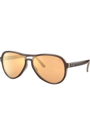 Ray-Ban Vagabond Mirror Evolve , Orange Lenses - RB4355