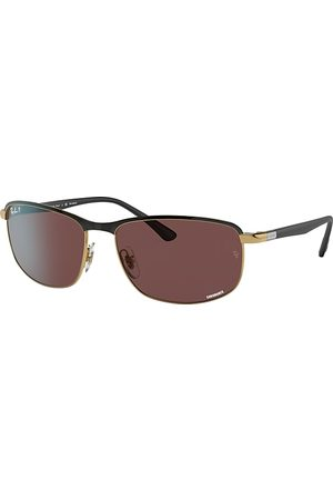 Ray-Ban Rb3671 Chromance , Polarized Violett Lenses - RB3671CH