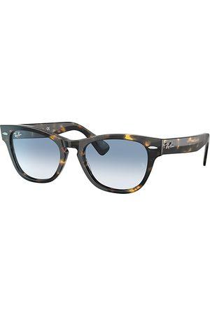 Ray-Ban Sonnenbrillen - Laramie Havana, Blau Lenses - RB2201