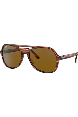 Ray-Ban Sonnenbrillen - Powderhorn Havana, Lenses - RB4357