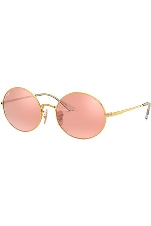 Ray-Ban Oval 1970 Mirror Evolve , Pink Lenses - RB1970