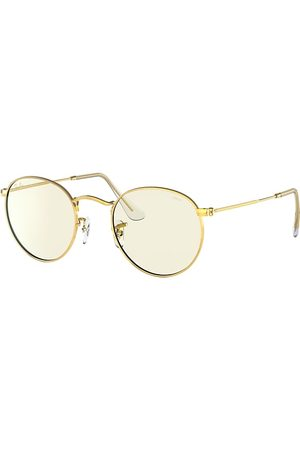 Ray-Ban Round Clear Evolve With Blue-light Filter , Grau Lenses - RB3447