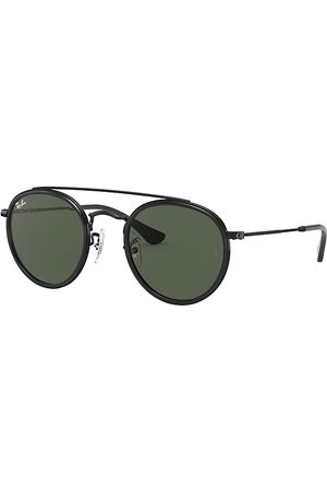 Ray-Ban Round Double Bridge Junior , Grün Lenses - RJ9647S