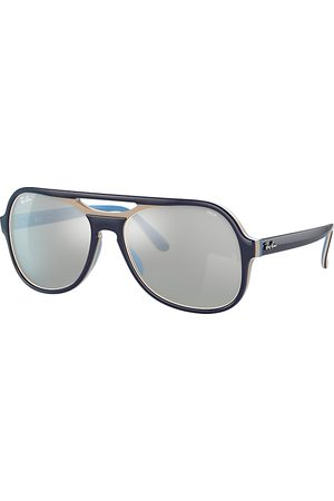 Ray-Ban Powderhorn Mirror Evolve , Grau Lenses - RB4357