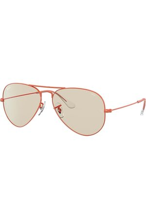 Ray-Ban Aviator Solid Evolve , Braun Lenses - RB3025