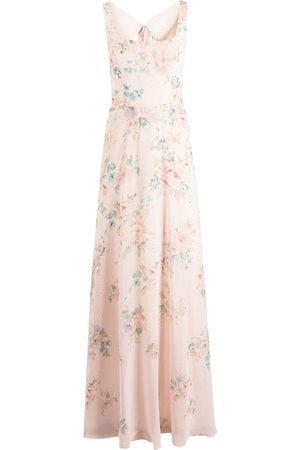 Marchesa Notte Damen Bedruckte Kleider - Sorrento Kleid mit Blumen-Print