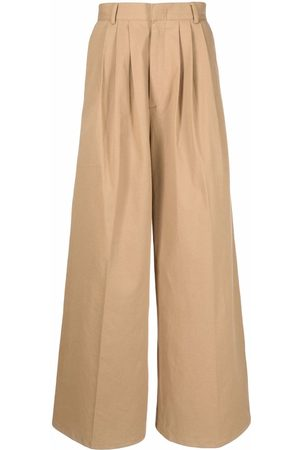 Liberal Youth Ministry High-waisted wide-leg trousers - Nude