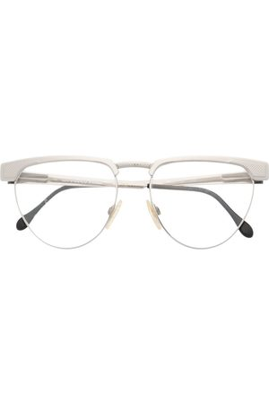 Gianfranco Ferré Pre-Owned 1990s Brille mit rundem Gestell