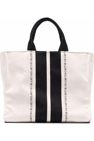 10 CORSO COMO Logo-print tote bag - Nude