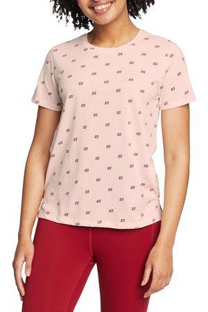 Eddie Bauer Damen Shirts - Myriad Shirt - bedruckt Damen Natur Gr. XS