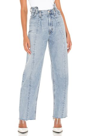AGOLDE Pieced Angled Jean in . Size 24, 25, 26, 27, 28, 29, 30, 31, 32.
