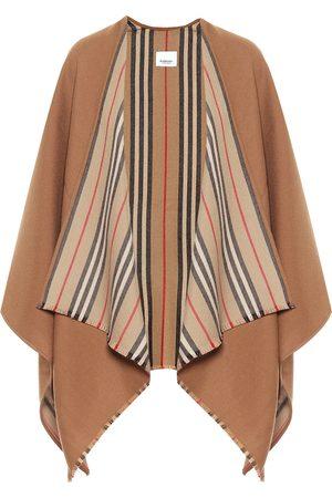 Burberry Damen Schals - Cape Icon Stripe aus Wolle