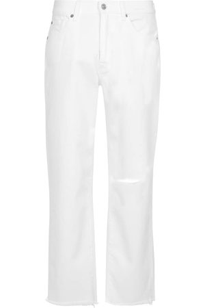 7 for all Mankind High-Rise Straight Jeans The Modern