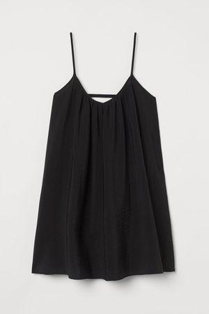 H&M Damen Midikleider - Luftiges Kleid aus Lyocellmix