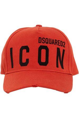 Dsquared2 Kappe Aus Baumwollgabardine Mit Icon-motiv