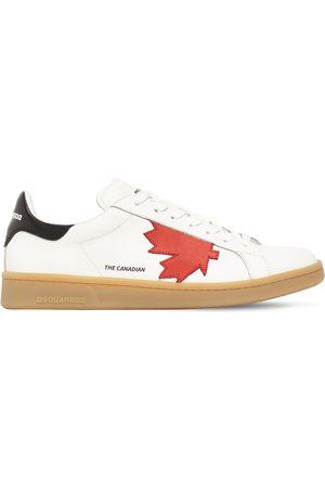 """Dsquared2 Sneakers Aus Leder """"boxer"""""""