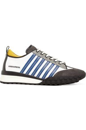 "Dsquared2 Herren Sneakers - Hohe Sneakers Aus Leder ""legend 551 Mix"""