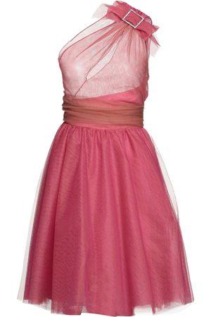 Pinko Damen Asymmetrische Kleider - KLEIDER - Knielange Kleider - on YOOX.com