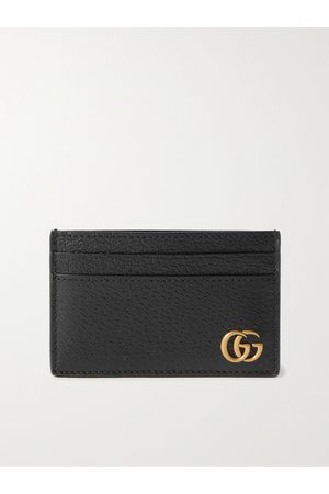 Gucci Herren Geldbörsen & Etuis - GG Marmont Full-Grain Leather Cardholder