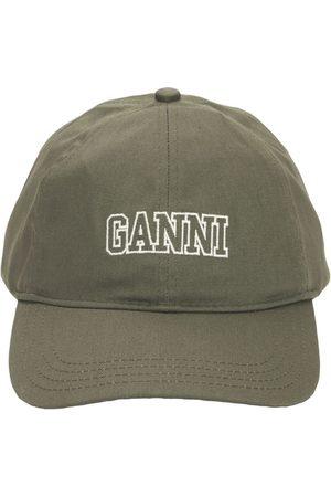 Ganni Kappe Aus Bio-baumwolle