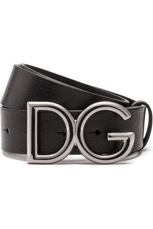 Dolce & Gabbana Herren Gürtel - Gürtel mit Logo-Schnalle