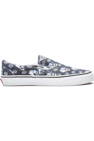 Vans Herren Sneakers - Classic Slip-On Flash Skulls sneakers