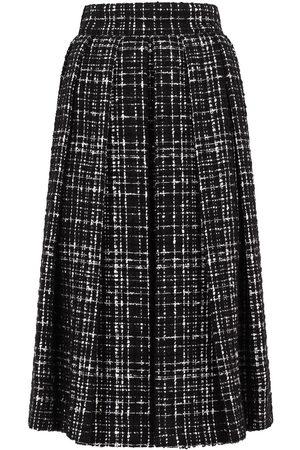 Dolce & Gabbana Damen Röcke - Tweed-Rock in A-Linie