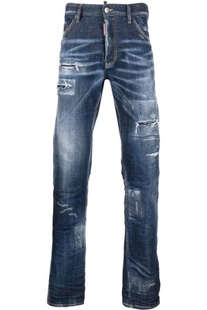 Dsquared2 Bootcut-Jeans im Distressed-Look