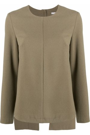 12 STOREEZ Damen Strickpullover - Rückenfreier Pullover