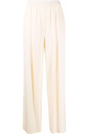 12 STOREEZ Damen Hosen & Jeans - Hose mit elastischem Bund - Nude