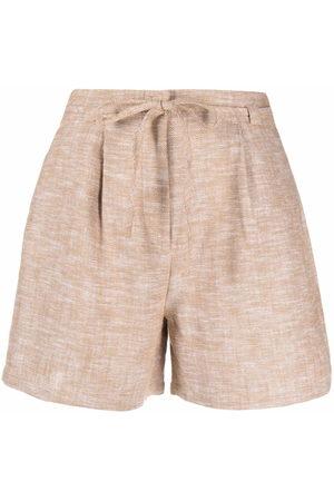 12 STOREEZ Shorts mit Kordelzug - Nude