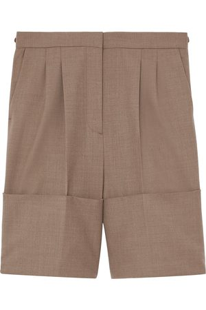 Burberry Cuff detail tailored shorts