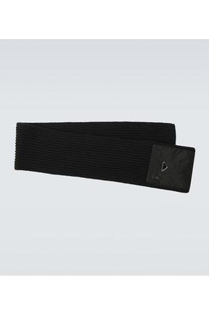 Prada Schals - Schal aus Re-Nylon und Schurwolle