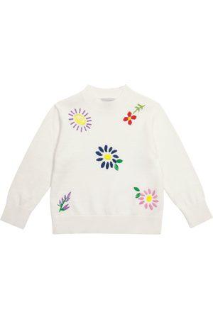 Stella McCartney Mädchen Strickpullover - Pullover aus Baumwolle und Wolle