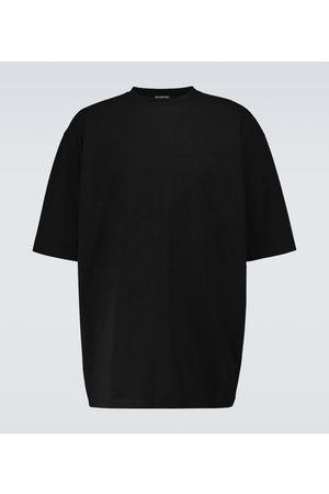 Balenciaga T-Shirt Hotel aus Baumwolle