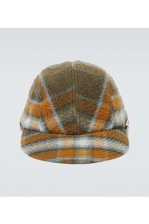 Marni Karierte Mütze aus Schurwolle
