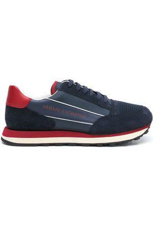Armani Exchange Herren Sneakers - XUX083XV263 K557 Furs & Skins->Bovine Split Leather