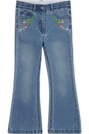 Stella McCartney Flared Jeans mit Stickerei
